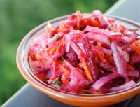 Овощные диетические салаты для похудения