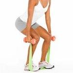 упражнения с резиновым жгутом, фото