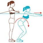Система Табата, упражнения фото