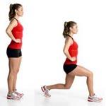 Выпады: упражнения для подтянутых ног