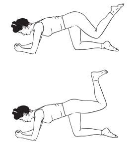 Видео упражнения для похудения и подтяжки ягодиц