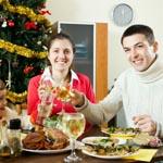 Как не переесть на праздники в Новый год