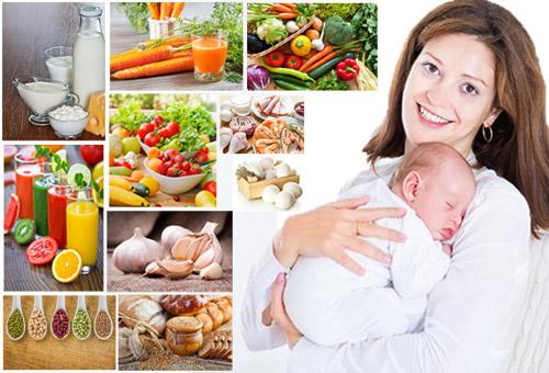 Что можно и нельзя есть кормящей матери