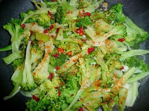 Брокколи: рецепт приготовления