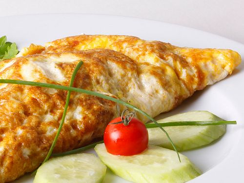 Омлет из белков калорийность