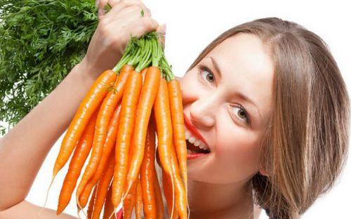 Морковный сок не только для здоровья, но и для красоты