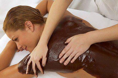 Шоколадный массаж