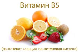 Витамин b5 пантотеновая кислота