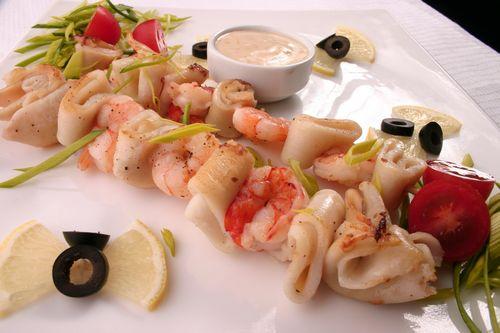 Блюда из кальмаров вкусны и полезны