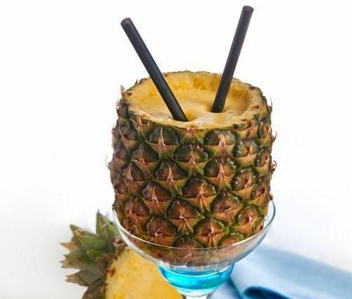Простой рецепт вкусного молочного коктейля с ананасом