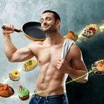 Рацион питания для похудения мужчин