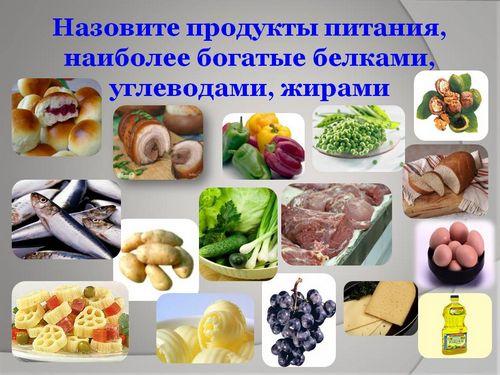 В каких продуктах содержится больше всего углеводов