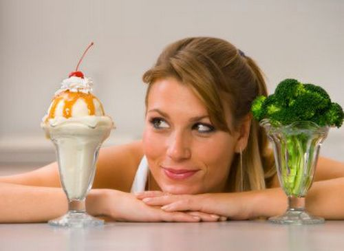 Холодное похудение – диета и мороженое