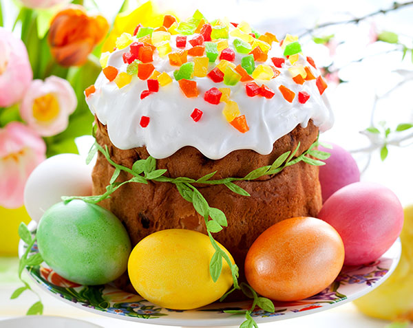 Пасхальный кекс низкокалорийный – рецепт с фото
