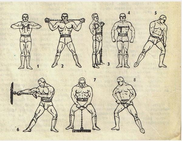 Изометрические упражнения в домашних условиях