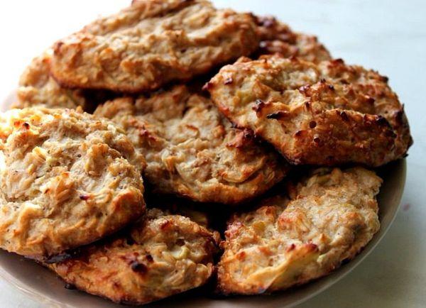 диетическое овсяно-творожное печенье