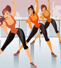танцы в стиле фитнес