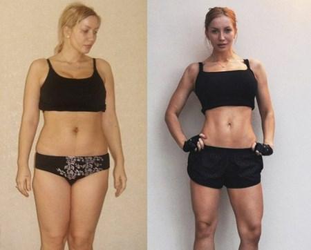 Гречневая диета: фото до и после