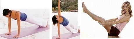 Йога для похудения, Связка для пресса и талии