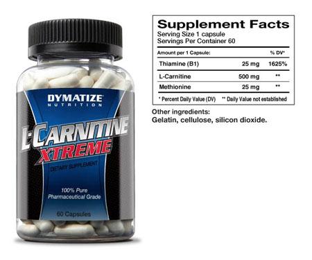 L-carnitine (L-карнитин)