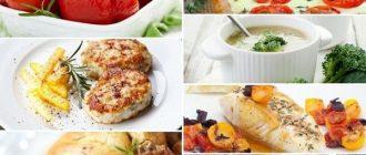 Меню на неделю: правильное питание для женщин