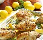 Рецепт для диеты Дюкана этап Атака: куриное филе с лимоном