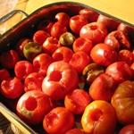 Рецепт для диеты Дюкана этап Круиз (чередование): Горячие помидоры