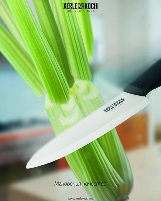 Керамические ножи: подсмотрено на самой стильной кухне