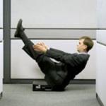 «Офисный» фитнес: худеем на рабочем месте