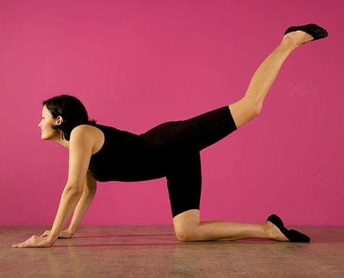 Стройные колени - упражнения