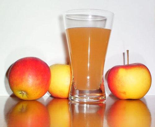 Чистка печени яблочным соком