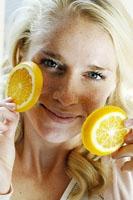 Как лимоном избавиться от веснушек