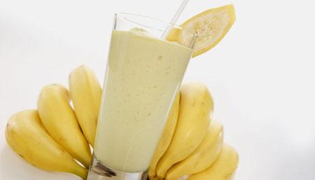 Вкусный смузи с бананом, рецепт