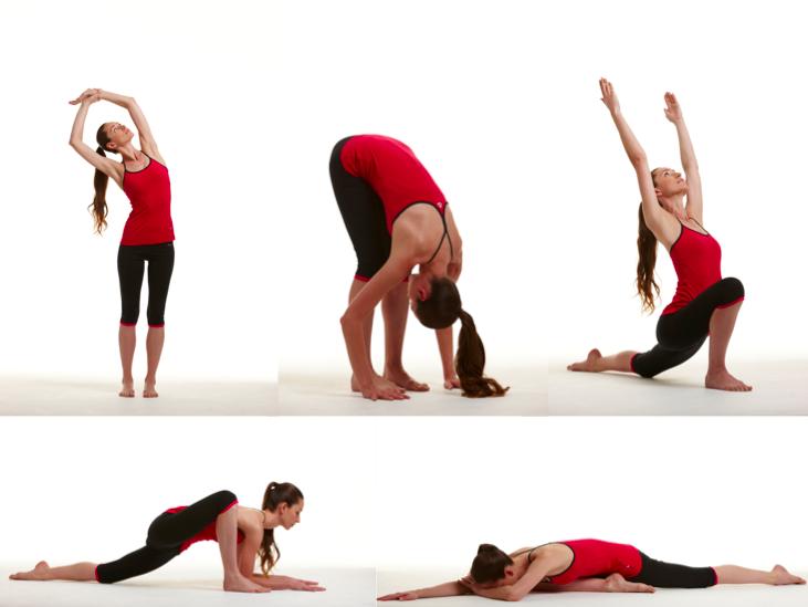 Эффективные упражнения на растяжку для начинающих: видео