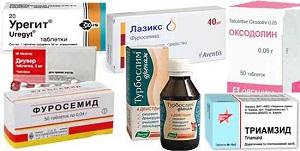 Мочегонные таблетки для похудения: отзывы худеющих