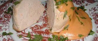 Мясное суфле: рецепты