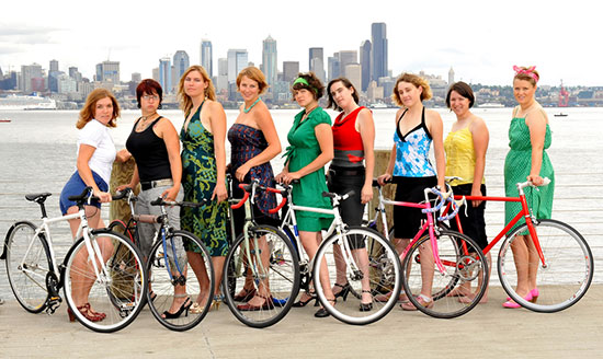 Как похудеть при помощи велосипеда.