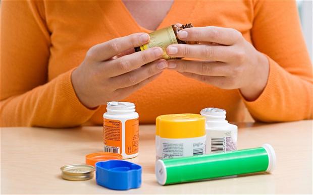 баночки с препаратами