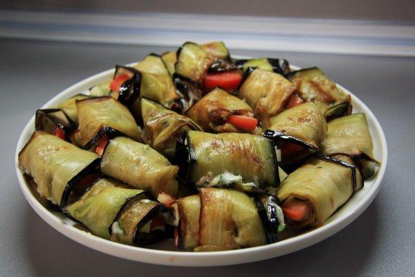 Готовим блюда из баклажанов