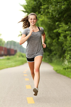 Бег и спортивная ходьба