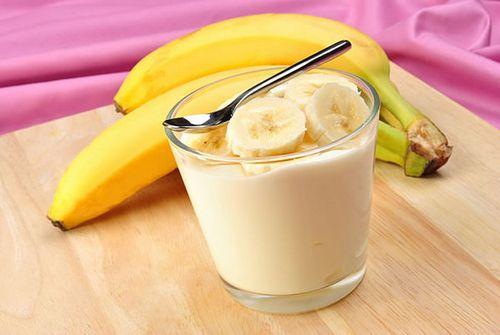 Бананы с молоком для набора веса