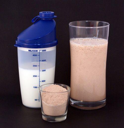 Быстро набираем вес с помощью протеина