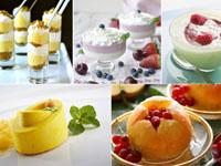 Десерты из фруктов — низкокалорийный сладкий стол на 8 марта
