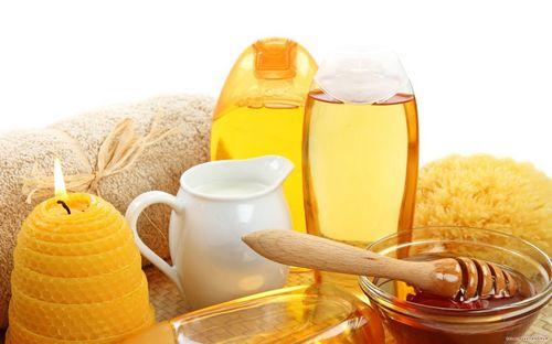 Обертывание медом