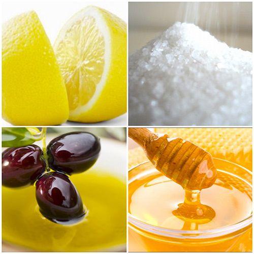 Скраб из меда с солью