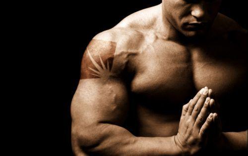 Как уменьшить грудь мужчине