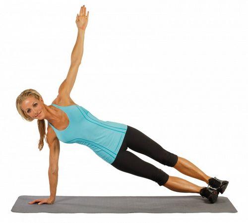 Упражнения в планке