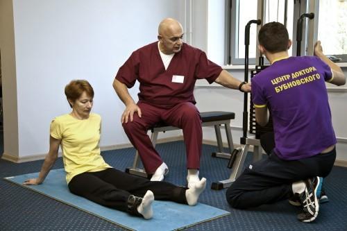 Лечение артроза и артрита коленного сустава по методу доктора Бубновского