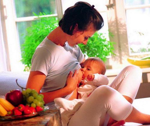 Диета кормящей матери