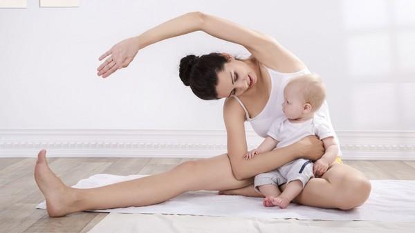 Фитнес после родов: как похудеть после кесарева сечения и при кормлении грудью?